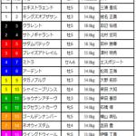 [第32回]MIWAのヘッポコ競馬予想~京成杯AH